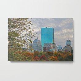 BOSTON STAND UP Metal Print