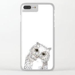 Whatcha Doin? Clear iPhone Case