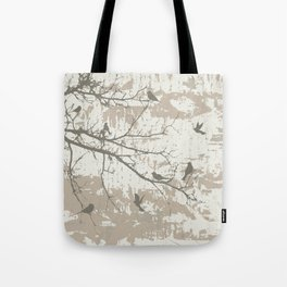 Dark birds Tote Bag