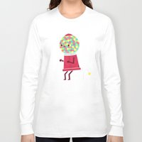 gumball Long Sleeve T-shirts featuring When You Gotta Go by Teo Zirinis