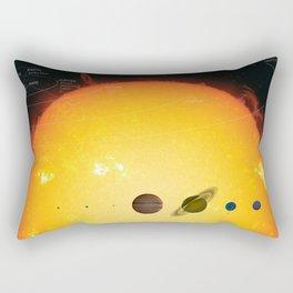 Solar System and Beyond Rectangular Pillow