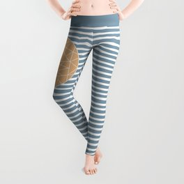 MAYBE THE SEA (abstract geometric) Leggings