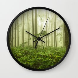 Dreaming of Appalachia - Nature Photography Digital Landscape Wall Clock