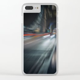 Life in the Fast Lane II Clear iPhone Case