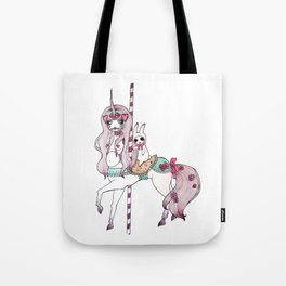 MARY-GO-ROUND Tote Bag