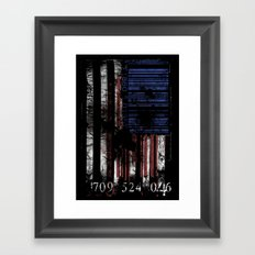 to be continued... Framed Art Print