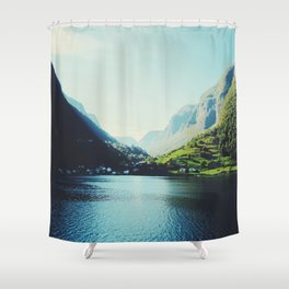 Mountains XII Shower Curtain