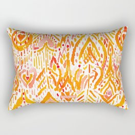 WARRIOR FIRE TRIBAL Rectangular Pillow