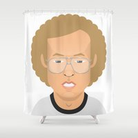 napoleon Shower Curtains featuring Napoleon Dynamite by Capitoni