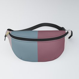 Parable to Behr Blueprint Color of the Year and Accent Colors Vertical Stripes 6 Fanny Pack