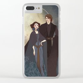 The senator and the general Clear iPhone Case