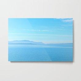 50 Shades of Blue Metal Print