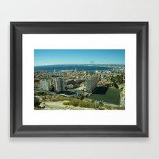 Marseille Bay Framed Art Print