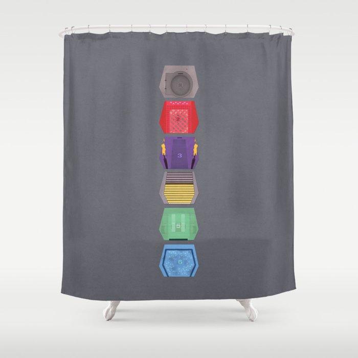 MST3K Doors Shower Curtain by avoidperil | Society6