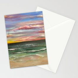 Emerald Coast Sunset Stationery Cards