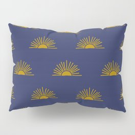 Sol in Indigo Pillow Sham