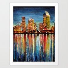 San Diego (1 of 3) Art Print