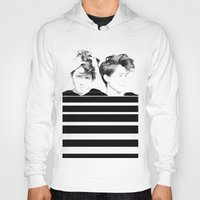 tegan and sara Hoodies featuring Tegan & Sara by MeMRB