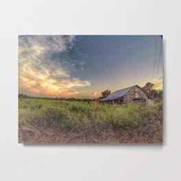 The barn on Cr 222 Metal Print