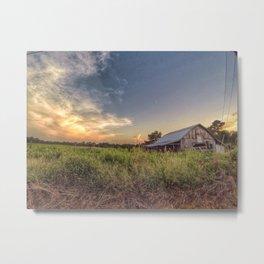 The barn on Cr 222 Metal Print