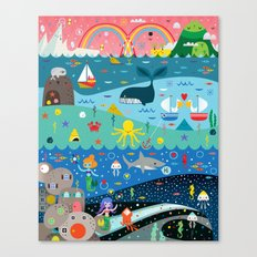 Underwater Cosmos Canvas Print