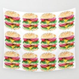 California Burger Wall Tapestry