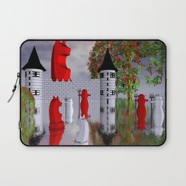 guardians of chess castle Laptop Sleeve