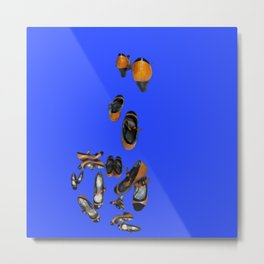 May breaking away in May - Shoes Stories Metal Print