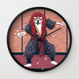 Kabuki Show Wall Clock