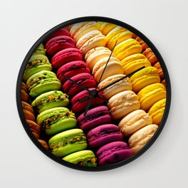 Macarons! (1) Wall Clock