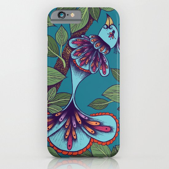Butterfly Bird iPhone & iPod Case