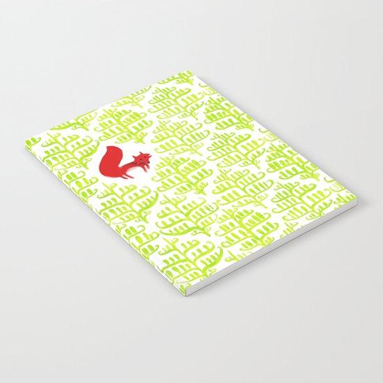 Damask forest pattern Notebook