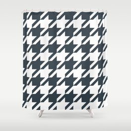 Texas longhorns houndstooth college UT university sports football fan team alumni Shower Curtain