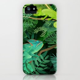 Chameleons iPhone Case