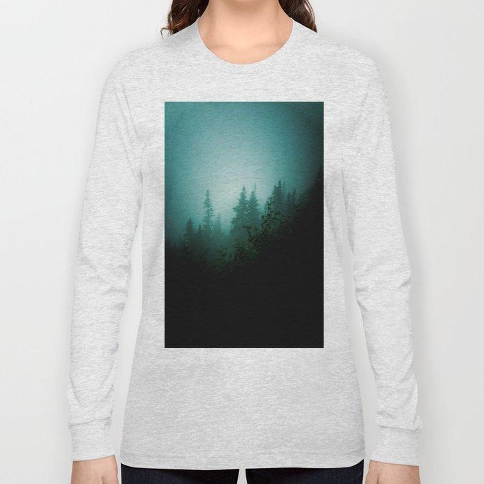 Dark as Night Long Sleeve T-shirt