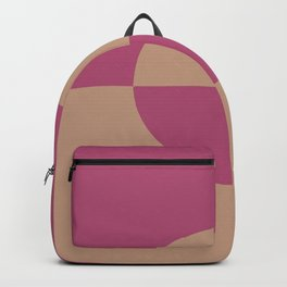 Sand Storm Beige Dark Pink Circle Design 2 Behr 2021 Color of the Year Canyon Dusk Diva Glam Backpack