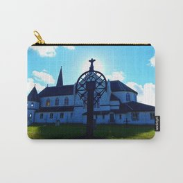 Old Church and Grave marker Carry-All Pouch