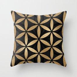 Flower Of Life - Sacred Geometry Throw Pillow