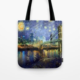 Van Gogh Comes to Cincinnati Tote Bag
