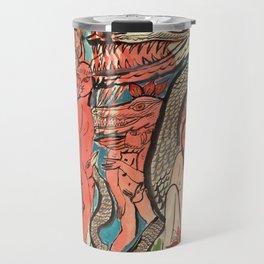 Ourobouric Echoes Travel Mug
