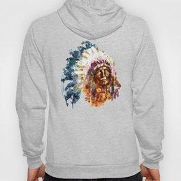 Native American Chief Hoody