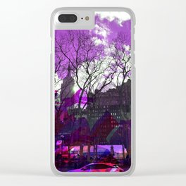 Bryant Purple Clear iPhone Case