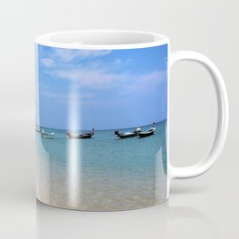 Nai Yang Beach Boats Coffee Mug
