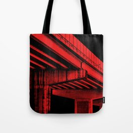 Mansfield: Red Tote Bag