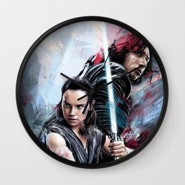 The last Jedi Wall Clock