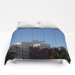 It Never Rains In Sunny California Comforters