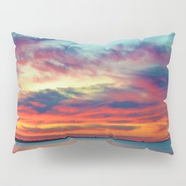 Sunset on Lake St. Clair in Belle River, Ontario Pillow Sham