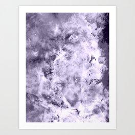 Lavender Gray Carina nEbULa Art Print