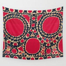 Tashkent Uzbekistan Central Asian Suzani Embroidery Print Wall Tapestry