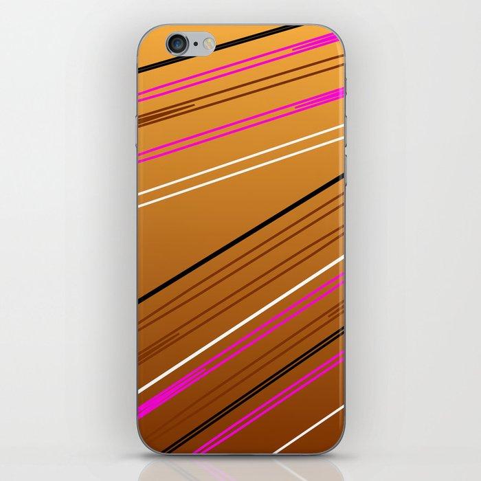 Soft Brown iPhone Skin